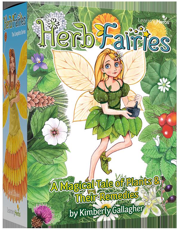 Herb fairies books for kids