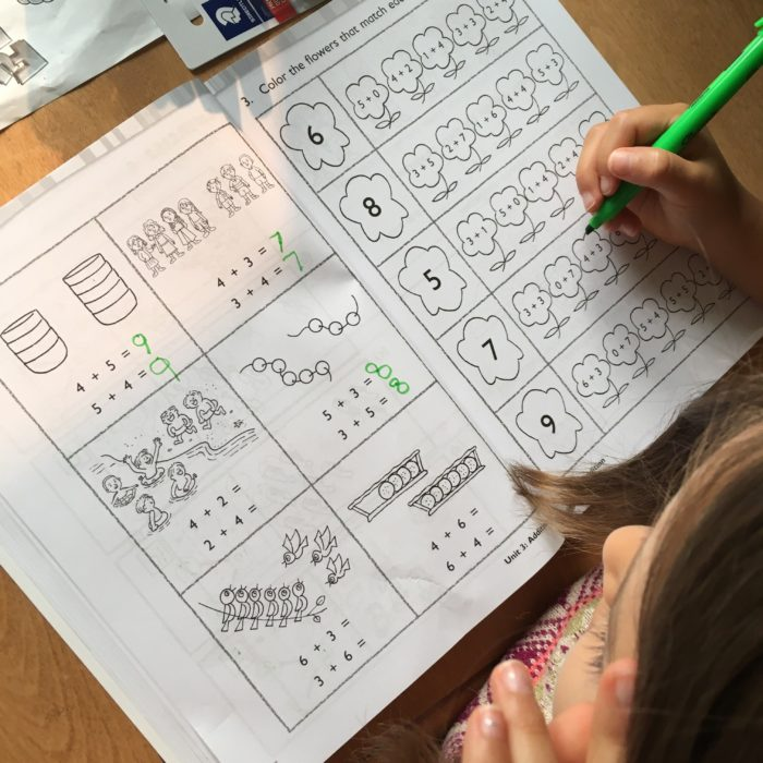 Singapore grade 1 math curriculum