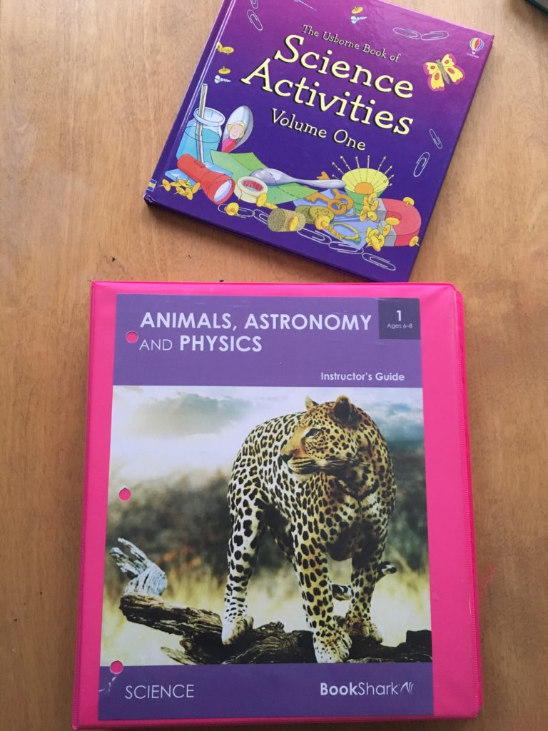 Level 1 homeschool science review