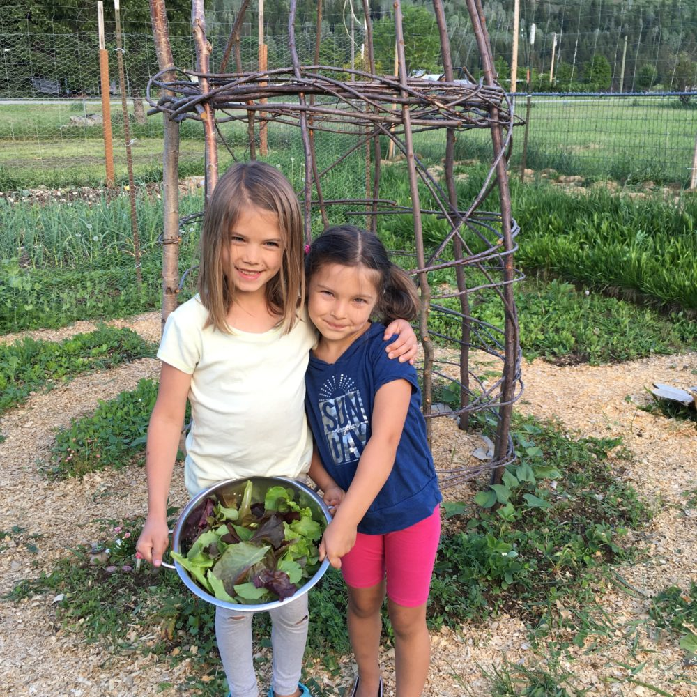 Gardening is great for kids education