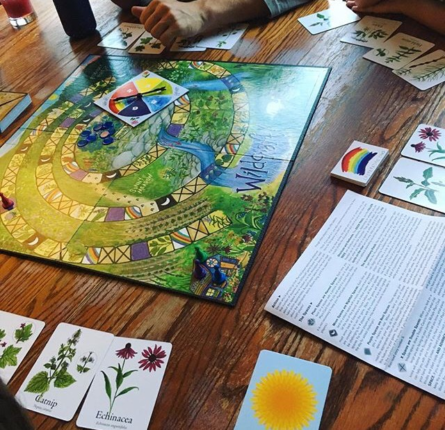 Wildcrafting board game