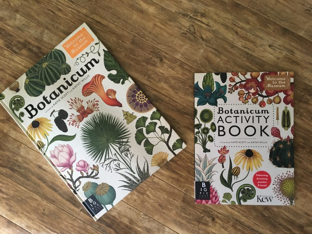 Botanicum book & activity book