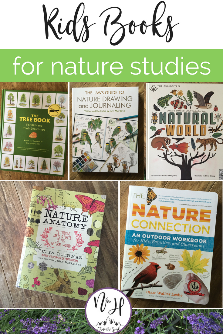 Kids books for nature studies