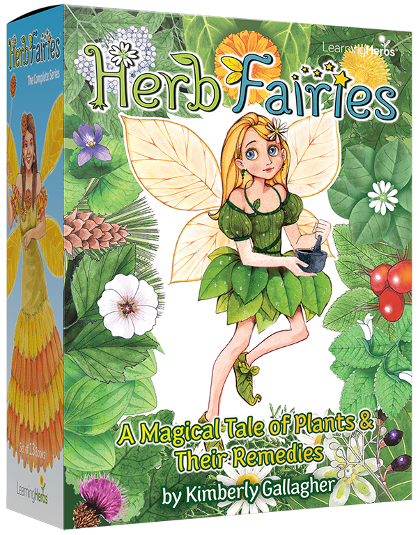 Herb fairies books for kids