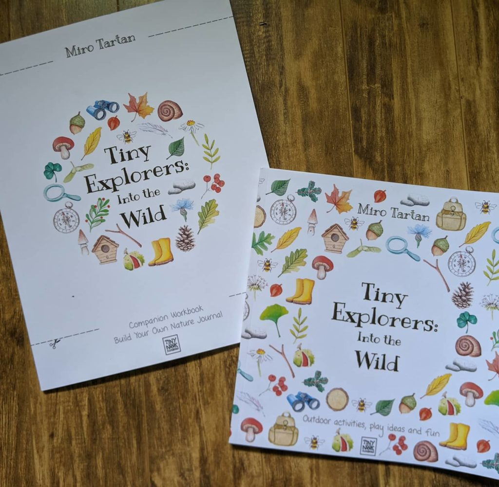 Tiny Explorers Kids Nature Project Book
