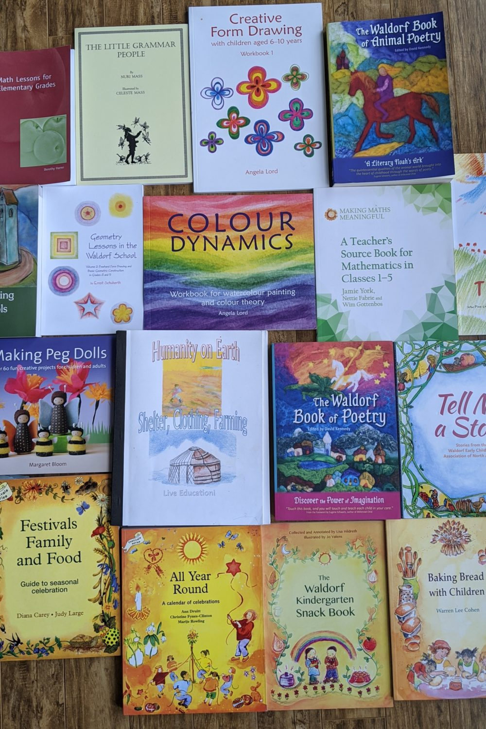 Waldorf Books and Waldorf Homeschool Curriculum