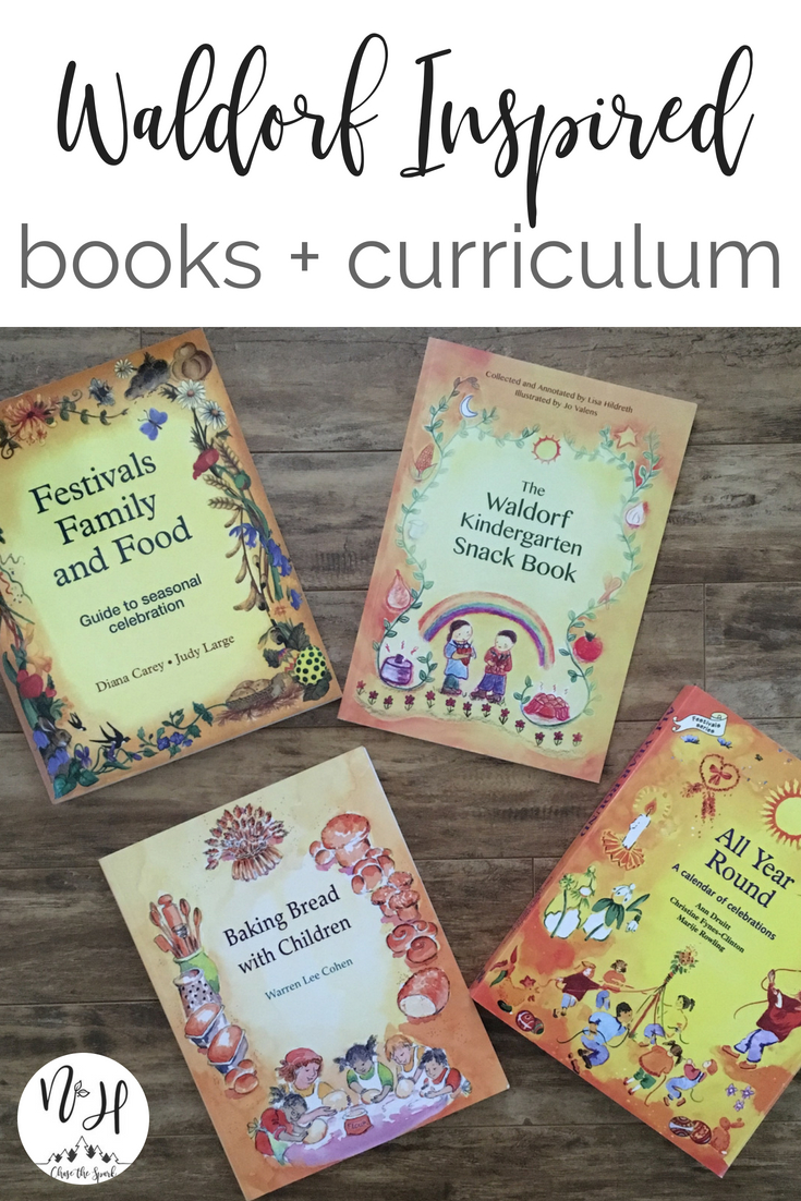 Waldorf books for homeschooling