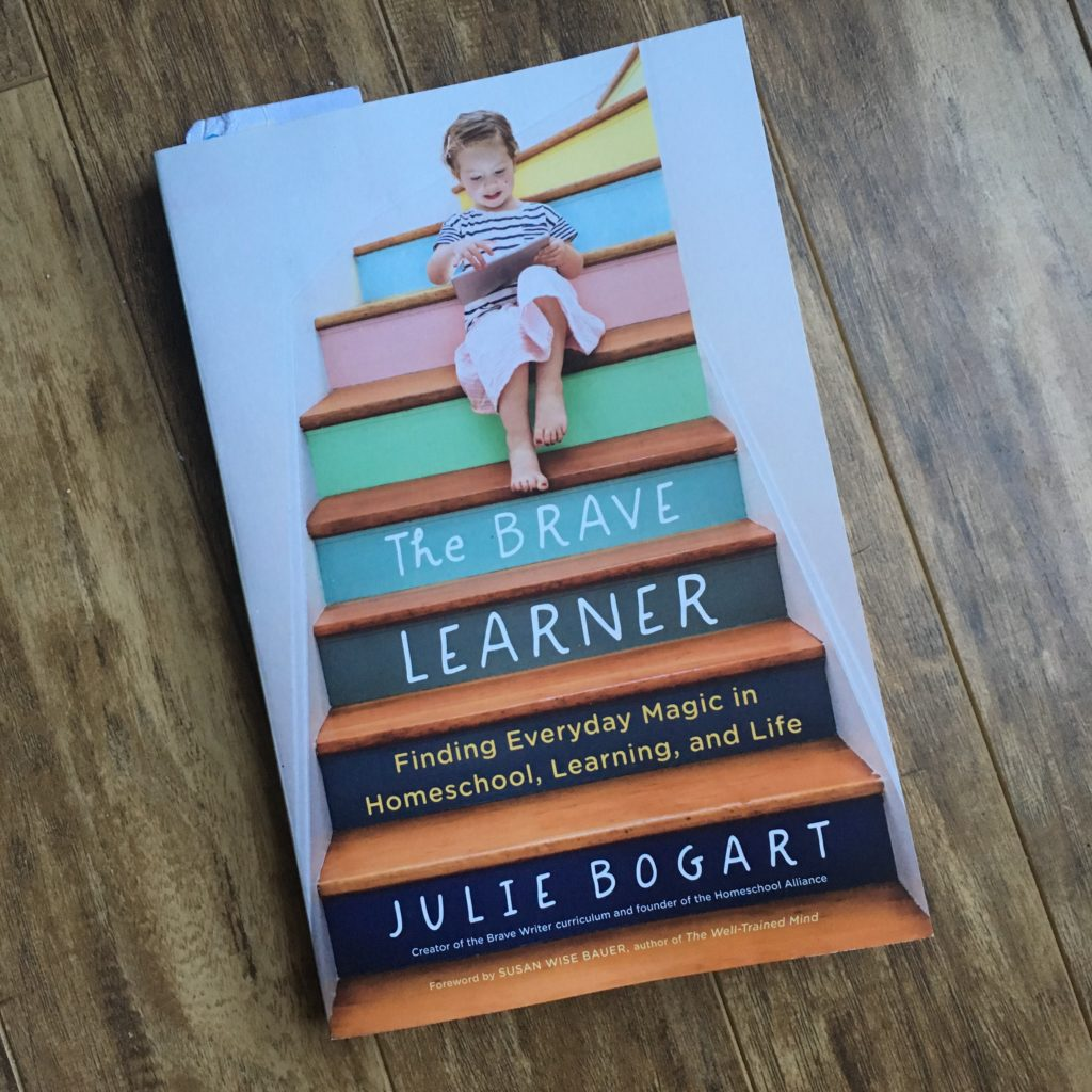 The Brave Learner book
