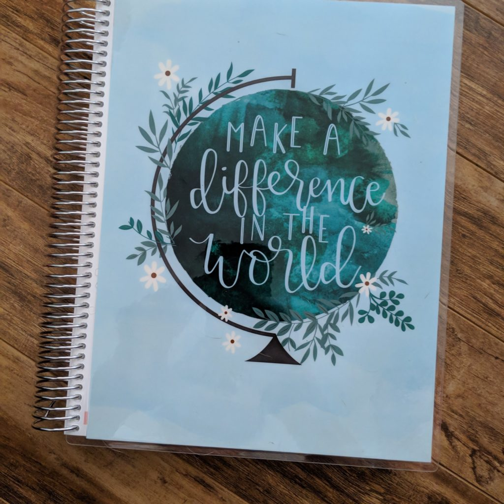 Erin Condren Teacher Planner for our Homeschool Planner