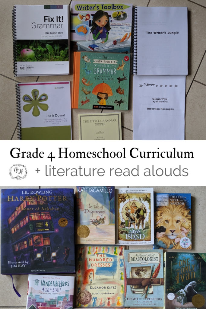 Grade 4 curriculum for homeschool