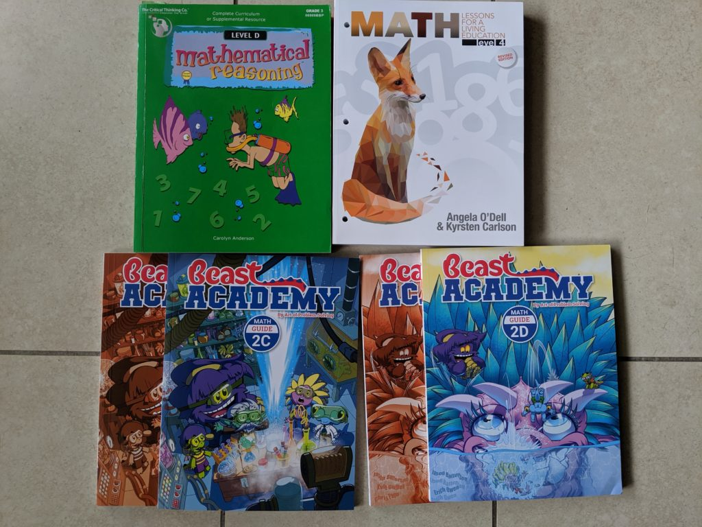Grade 4 Homeschool Math Curriculum