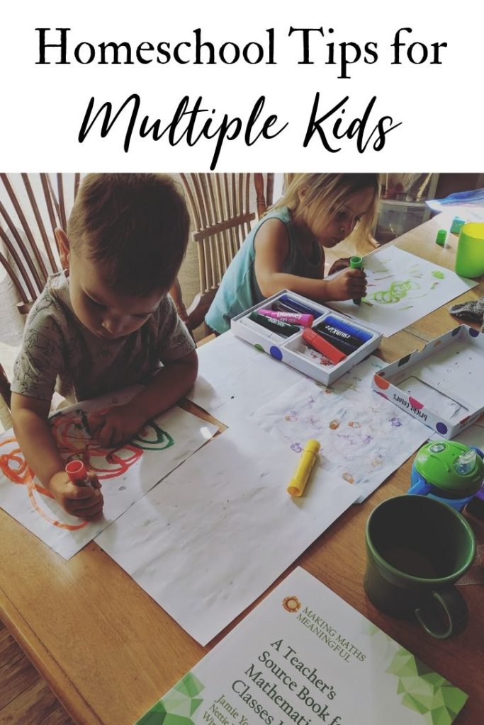 Homeschool Tips for Multiple Kids