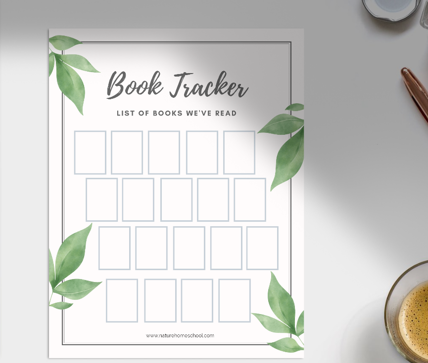 Book Tracker Printable