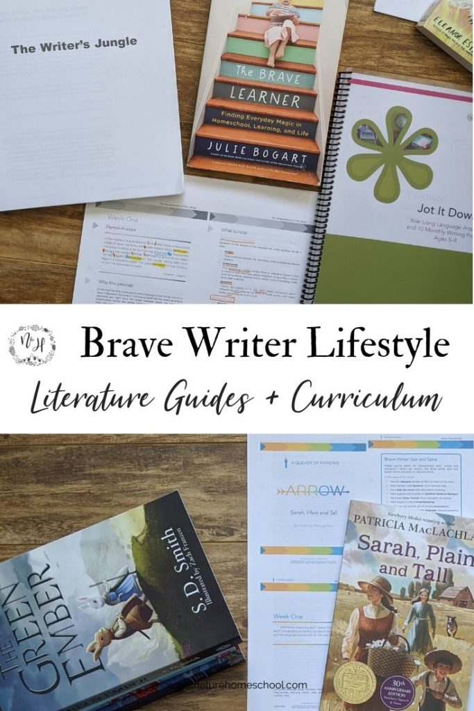 Brave Writer Curriculum and Literature Guides #homeschool #homeschoolcurriculum #bravewriter