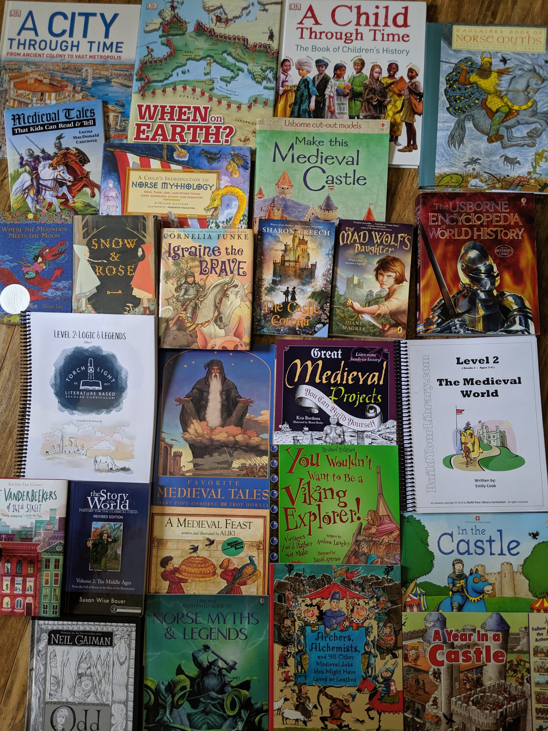 Secular Homeschool Curriculum Build your Library (BYL) and Torchlight