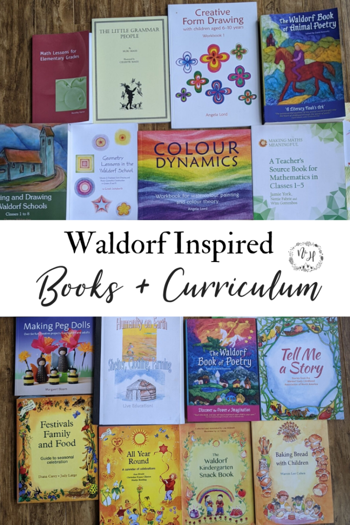 Waldorf books and curriculum