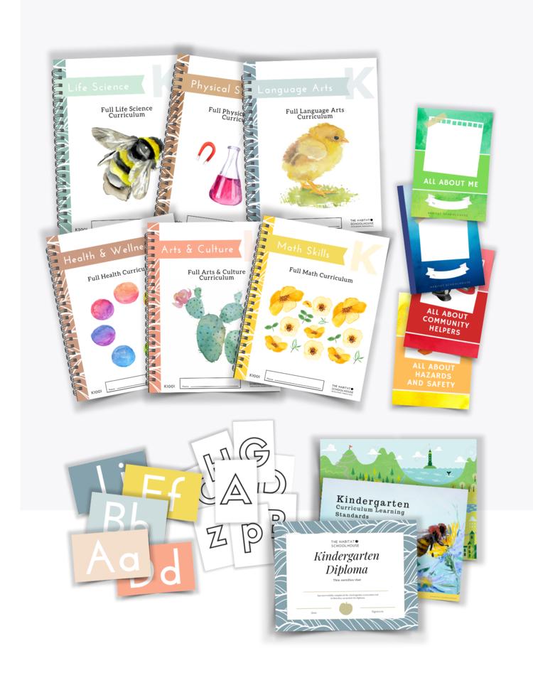Habitat Schoolhouse Kindergarten Curriculum