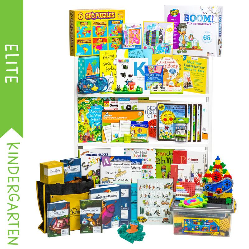 Timberdoodle Kindergarten Homeschool Curriculum package