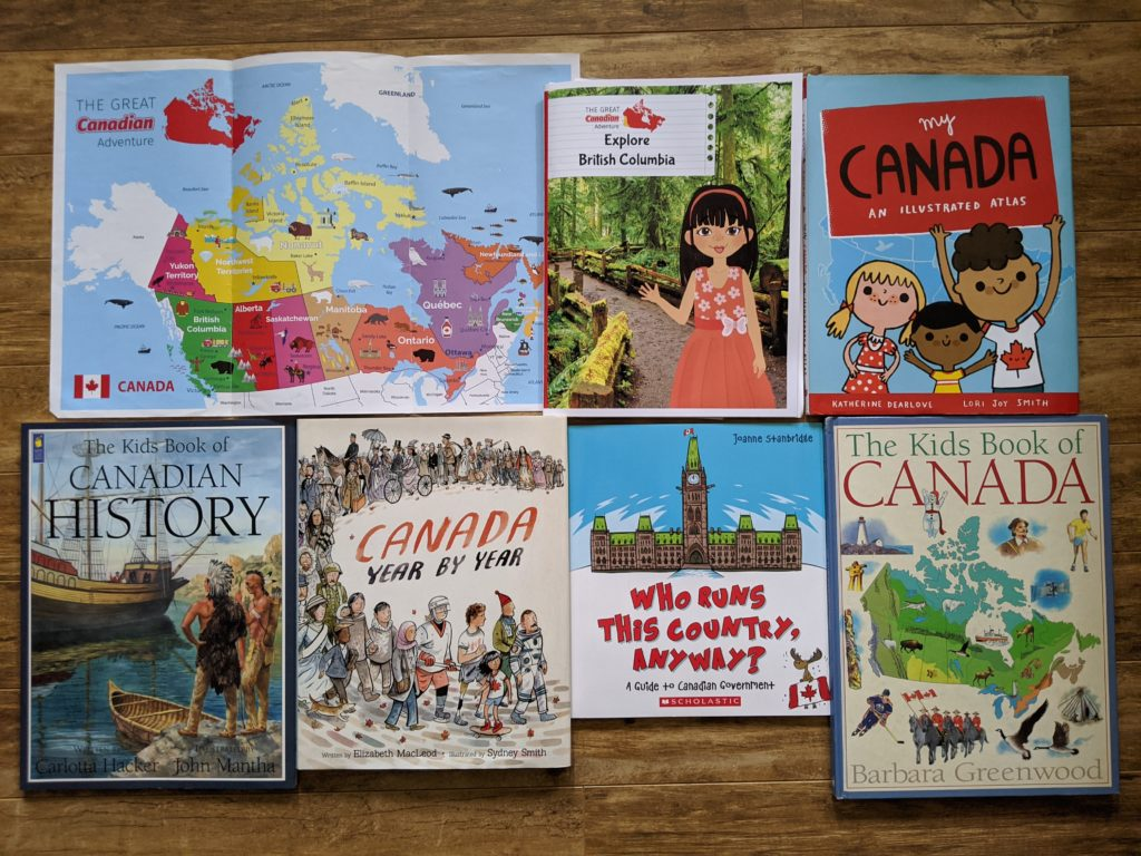 Canadian homeschool curriculum and books