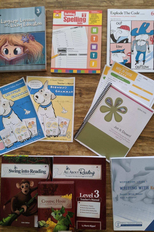 Grade 3 Homeschool Language Arts Curriculum