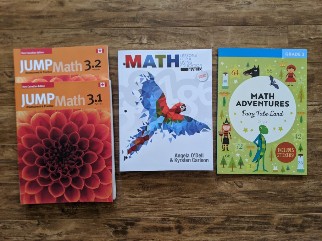 Grade 3 Homeschool Math Curriculum