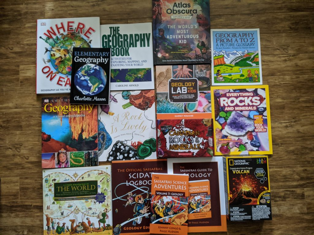 Homeschool earth science books for kids