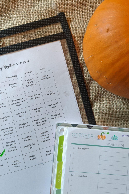 Homeschool Schedule Ideas