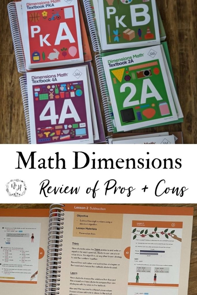 Singapore Math Dimensions Review